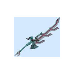 Meyneth's Monado (altered to Fiora's double-blade attack style)