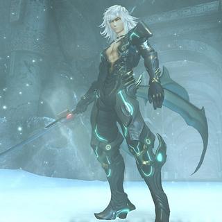 Jin's true form as a Blade