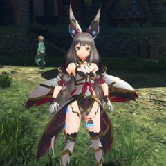 Nia in her Blade form