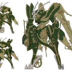 Jade face's concept art