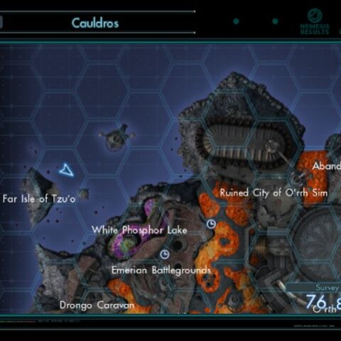 Armed Engineer Galdr's location on Map View