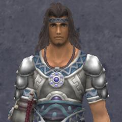 Dunban wearing the Elite Light Armor