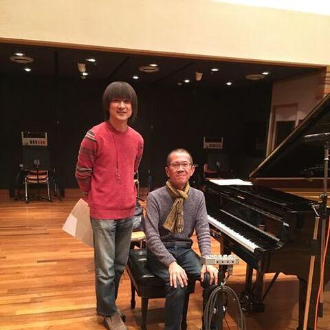 Yasunori Mitsuda with Akio Noguchi]]