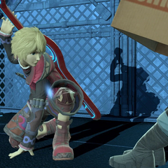 Shulk and Snake