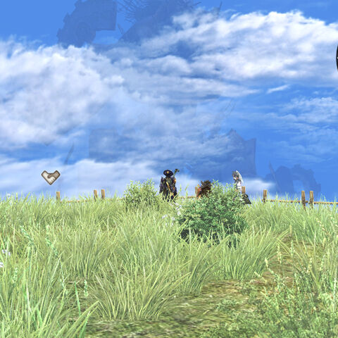 Mechonis viewed from Kneecap Hill