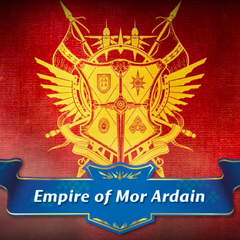 The emblem of the Empire of Mor Ardain