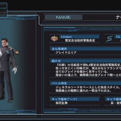 Nagi character infobox in the Japanese version