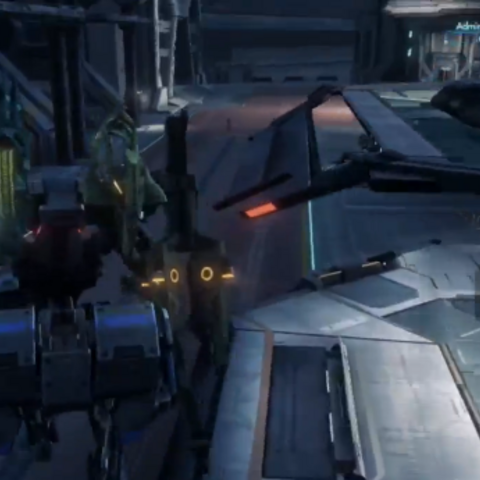 The BLADE Concourse from a Skell