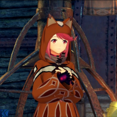 Pyra wearing a <a href=