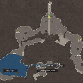 NPC locations in Frontier Village 3