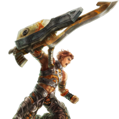 Reyn with a Gunlance