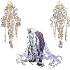 Concept art of Arglas and Zanza