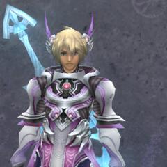 Shulk in Medium Rafaga Armor