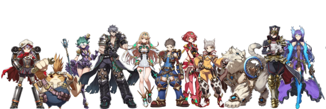 XC2 Characters