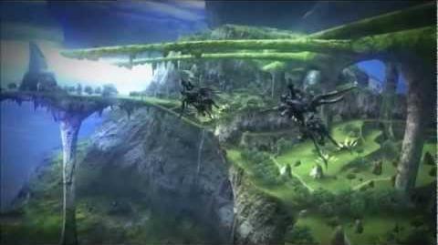 Xenoblade - Exploring the Beta map (Bionis' Left Shoulder)