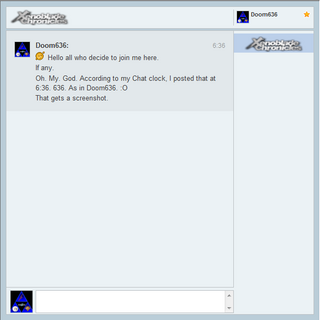 The Chat box kind of does all the explaining.