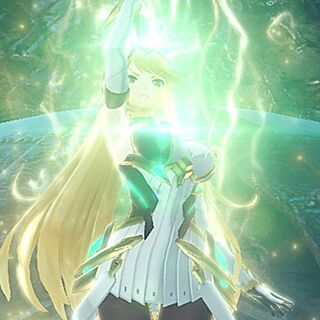 Mythra using Siren's power