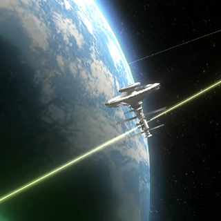 The First Low Orbit Station as it appears in <i>Xenoblade Chronicles</i>