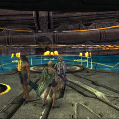 The rear side of Junks, where Miqol is usually found
