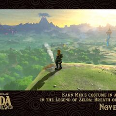 Rex's costume pack obtained in <i>The Legend of Zelda: Breath of the Wild</i>