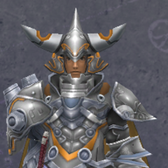 Dunban wearing the Ledios Heavy Armor