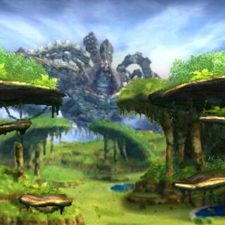 Gaur Plain as seen on the 3DS version.