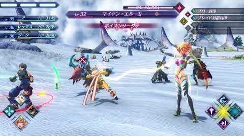 【ゼノブレイド2】戦闘「ブレイドコンボ」
