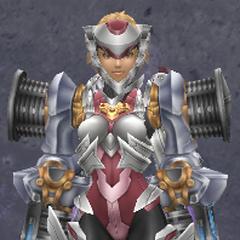 Fiora in Power V Armor