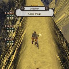 Kana Peak in the original version