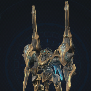 Gold with Hyper Rail Cannon