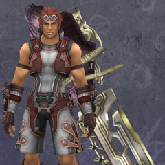 Reyn in Light Rondine Armor
