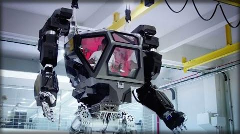 S.KOREA UNVEILS SECRET TERRIFYING 13 FOOT 'AVATAR WAR' ROBOT
