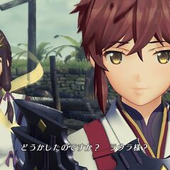 Lora and Haze in <i>Torna ~ The Golden Country</i>