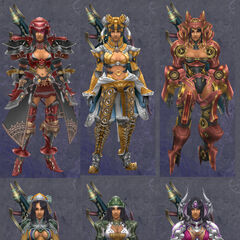 Compilation of Sharla's armor