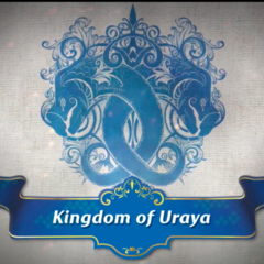 The emblem of the Kingdom of Uraya