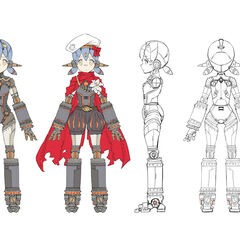 Conceptual artwork of Poppi α