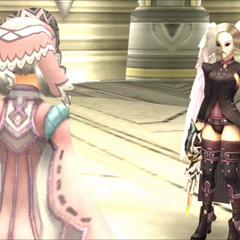 Tyrea about to fight Melia