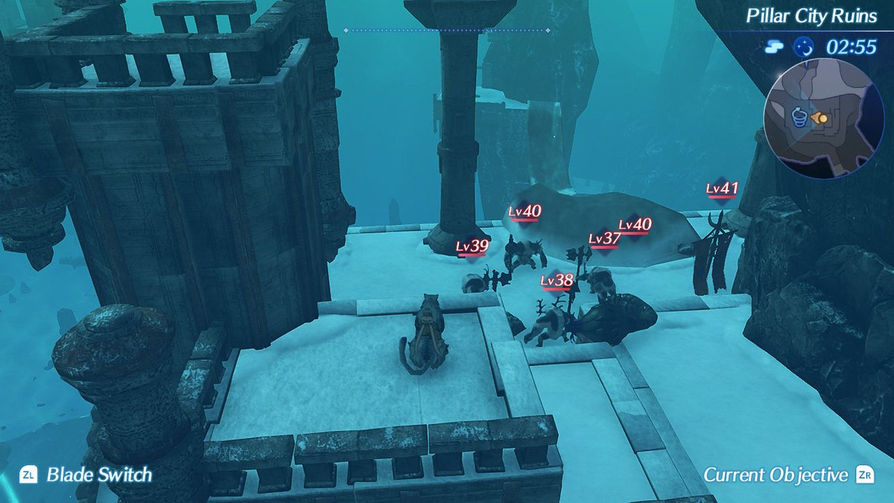Pillar City Ruins Xenoblade Wiki Fandom Powered By Wikia