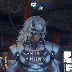 Jin as an NPC on the Maelstrom