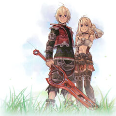 Art of Shulk and Fiora