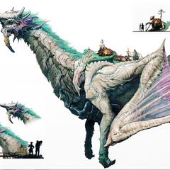 Concept art of Azurda