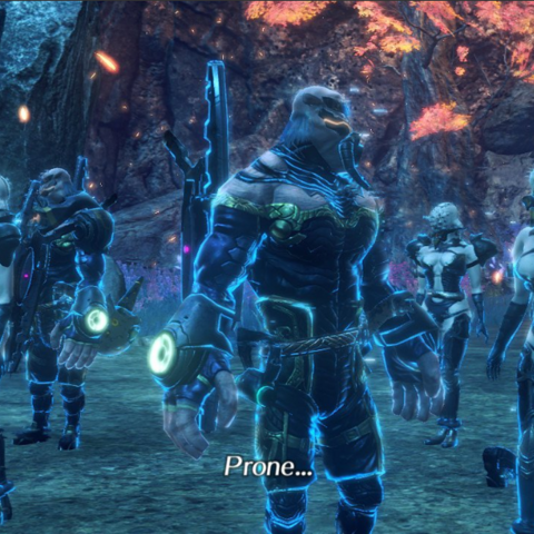 The Prone as they appear in <i>Xenoblade Chronicles 2</i>