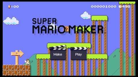 Super Mario Maker Level Discussion Xenoblade-Tephra Cave