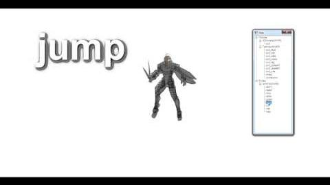 Lambert (Unused Xenoblade Character) Animation Showcase