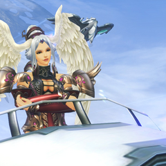 Lorithia during the second Battle of Sword Valley in <i>Xenoblade Chronicles: Definitive Edition</i>