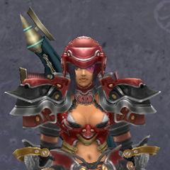 Sharla in Heavy Ledios Armor