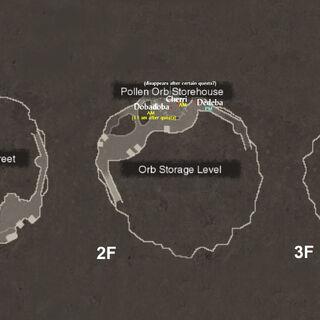 NPC locations in Frontier Village 1