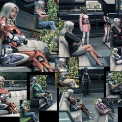 Elma in various armors