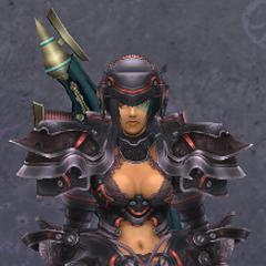 Sharla in Heavy Titan Armor