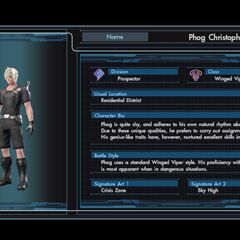 Phog's character infobox in the English version
